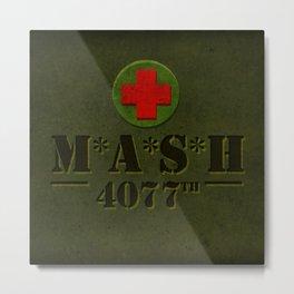 M*A*S*H Metal Print
