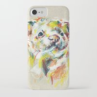ferret iPhone & iPod Cases featuring Ferret I by Anaïs Chesnoy