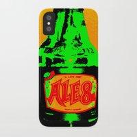 ale giorgini iPhone & iPod Cases featuring Ale-8-One (Bottle) by Silvio Ledbetter