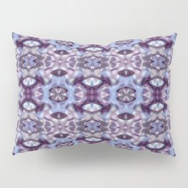 Pattern in Blue and Violet Pillow Sham