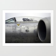 Fighter Jet Art Print