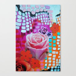 Roses Are Free Canvas Print