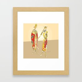 Coalition Framed Art Print