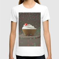 sprinkles T-shirts featuring Cupcakes & Sprinkles by Owaisj1