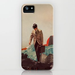 Leaving Their Cities Behind iPhone Case
