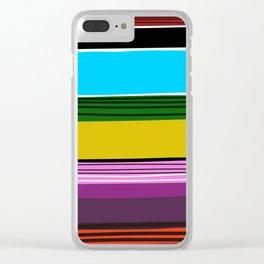 Serape 2 Clear iPhone Case