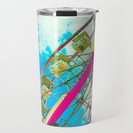 Candy Colored Ferris Wheel Travel Mug
