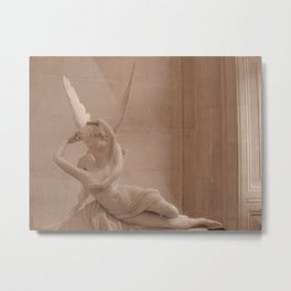 Psyche Revived by Cupid's Kiss Metal Print
