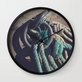 Concrete pier surface Wall Clock