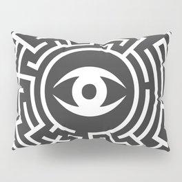 Eye Maze Pillow Sham