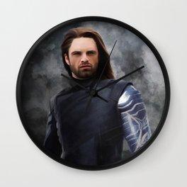 Soldier Winter (Infinity War) Wall Clock