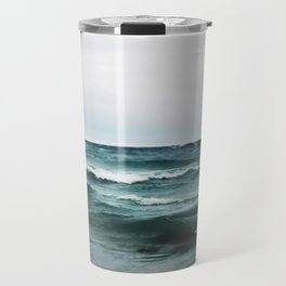 Turquoise Sea #2 Travel Mug