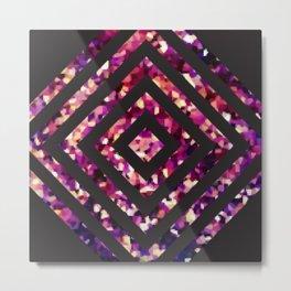 Pixagon Metal Print