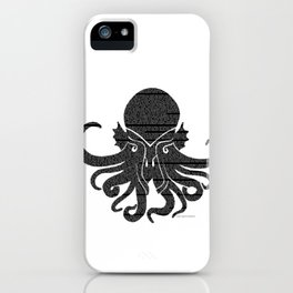 Call of the Cthulu iPhone Case