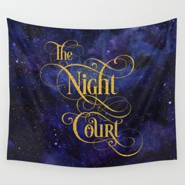 The Night Court Wall Tapestry