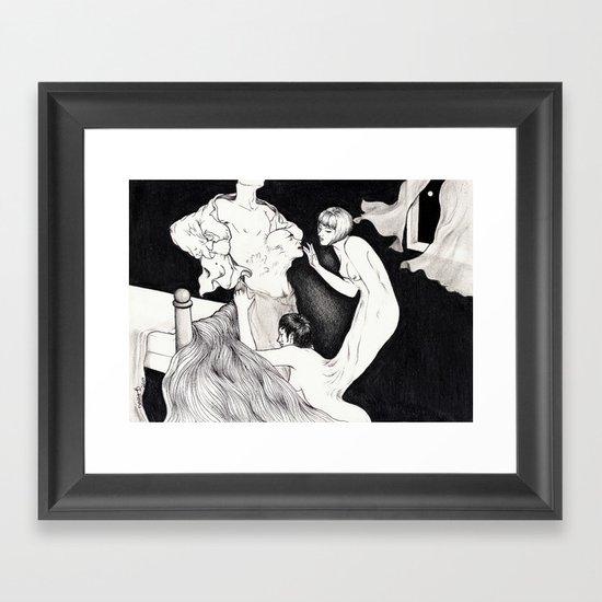 HYDE LOVE Framed Art Print