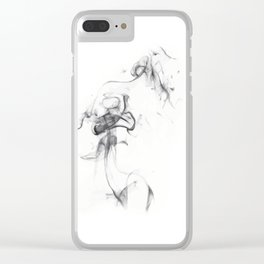 THE BODY Clear iPhone Case