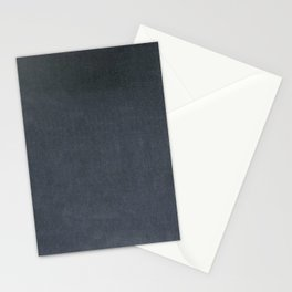 Slate Blue Velvet Texture Stationery Cards