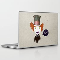 mad hatter Laptop & iPad Skins featuring Mad Hatter by Lourenço Santos