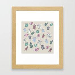 Lavanderia [coin Laundry ] Framed Art Print