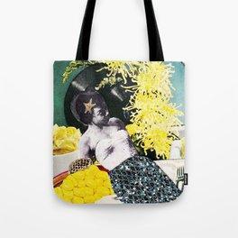 Cream of The Crop Surreal Art Tote Bag