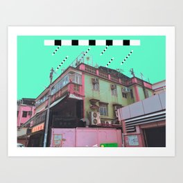 黒色暴雨 /// Black Rainstorm Art Print