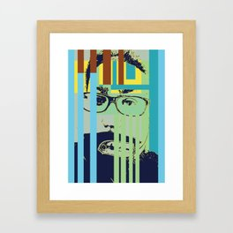 Bar growth 2 Framed Art Print