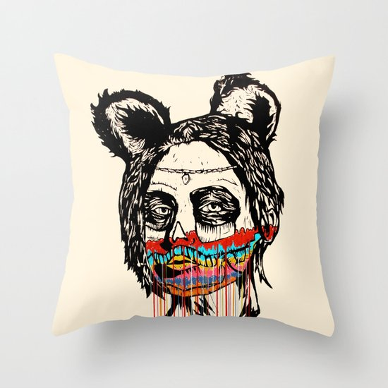 Wonderdam Girl Throw Pillow