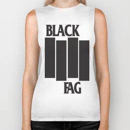 BLACK FAG Biker Tank