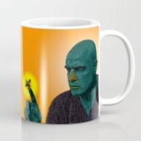 apocalypse now Mugs featuring Apocalypse Now Marlon Brando by CultureCloth