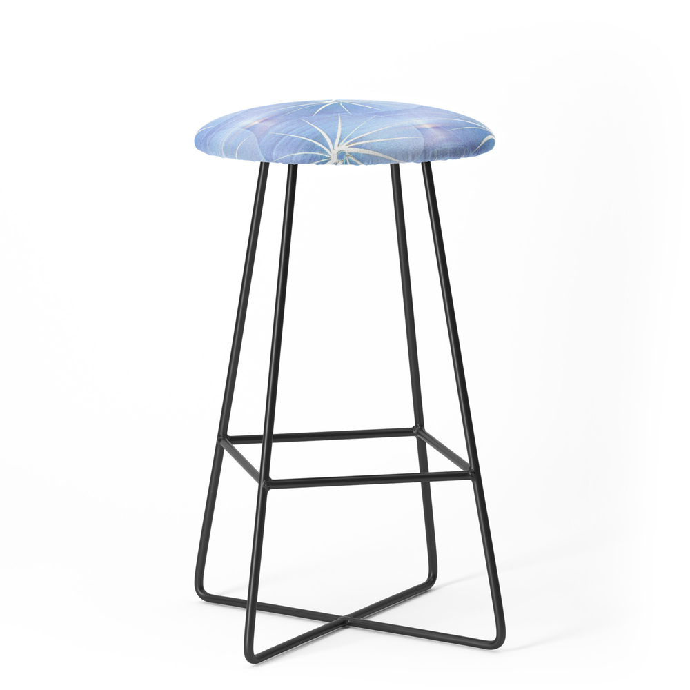 Paper Parasols (Blue) Bar Stool by artisimo (BST7741427) photo
