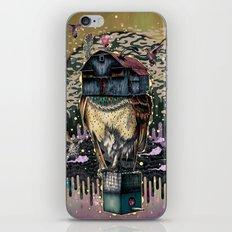 The Barn Owl Fortune Teller iPhone Skin