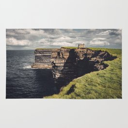 Irish Sea Cliffs Rug