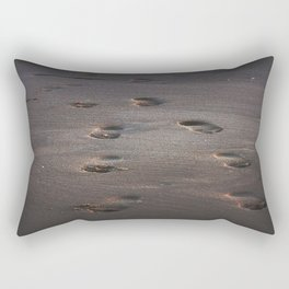 Burn In the Sand Rectangular Pillow
