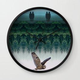 Fourth Dimension Owl by GEN Z Wall Clock