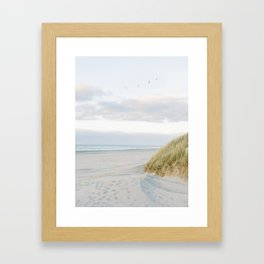Dunes of Ameland, Holland   Dutch Coastline   Fine Art Travel Photography  Framed Art Print
