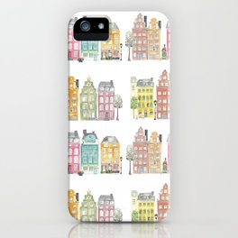 Stockholm houses iPhone Case
