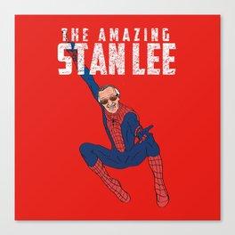 The Amazing Stan Canvas Print