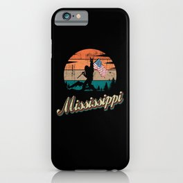 Mississippi USA Flag iPhone Case