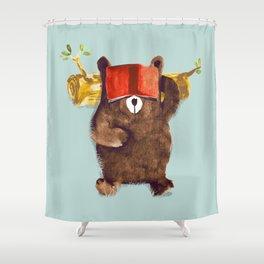 No Care Bear - My Sleepy Pet Shower Curtain