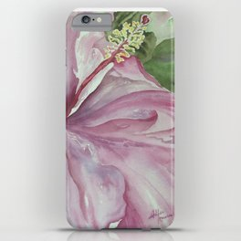 Hawaii On My Mind (hibiscus) iPhone Case