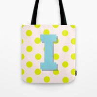 I is for Inspiration Tote Bag