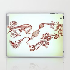 fear of being ordinary Laptop & iPad Skin