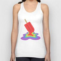 popsicle Tank Tops featuring Popsicle by BTP Designs