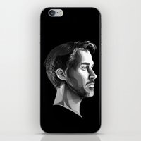 ryan gosling iPhone & iPod Skins featuring Ryan Gosling by anomaly alice