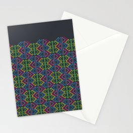 Geometric pattern Stationery Cards