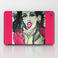 mia wallace iPad Cases featuring MIA  by JANUARY FROST