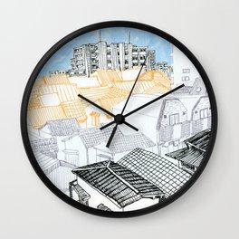 Tokyo landscape Wall Clock