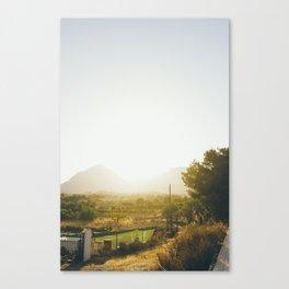 Spanish Sun Canvas Print
