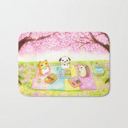 Cherry Blossom Bento Picnic Bath Mat